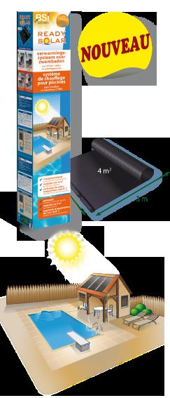Ready solar le chauffage intelligent pour piscine des for Consommation chlore liquide piscine